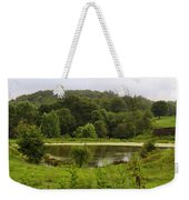 Farm Pond Weekender Tote Bag