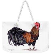 Farm Rooster Weekender Tote Bag