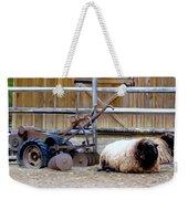 Farm Scene Weekender Tote Bag