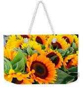 Farm Stand Sunflowers #8 Weekender Tote Bag