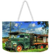 Farm Stand Truck Weekender Tote Bag