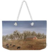 Farm With Cows  Weekender Tote Bag