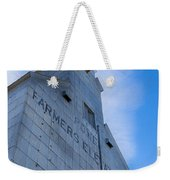 Farmers Grain Elevator, Power, Montana Weekender Tote Bag