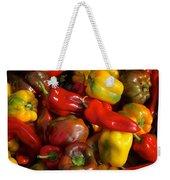 Farmers Market Bounty Weekender Tote Bag