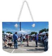 Farmers Market Meetings Weekender Tote Bag