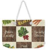 Farmer's Market Patch Weekender Tote Bag