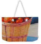 Farmers Market Produce Weekender Tote Bag by Nadine Rippelmeyer