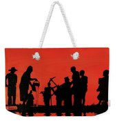 Farmers Night Out Weekender Tote Bag