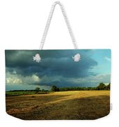 Farmers Race Against The Weather Frankenmuth Michigan Weekender Tote Bag