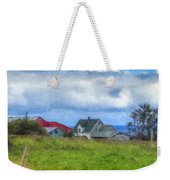 Farmhouse By The Sea Weekender Tote Bag