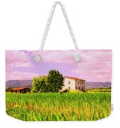 Farmhouse In Tuscany Weekender Tote Bag