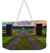 Farmhouse Sunrise - Arkansas - Landscape Weekender Tote Bag