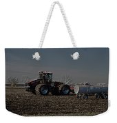 Farming April In The Field On The Case 500 Pa Weekender Tote Bag