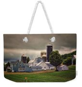 Farming Before The Storm Finger Lakes New York 04 Weekender Tote Bag