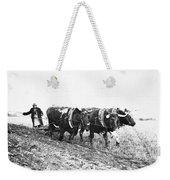 Farming: Ploughing, C1930 Weekender Tote Bag