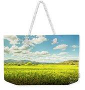 Farmland Colour Weekender Tote Bag