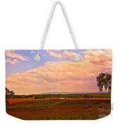 Farmland In Gettysburg Weekender Tote Bag