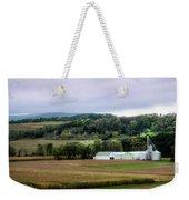 Farmland In Pennsylvania Weekender Tote Bag