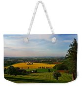 Farmland View Weekender Tote Bag