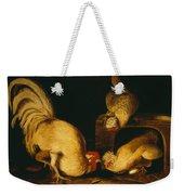 Farmyard Fowls Weekender Tote Bag
