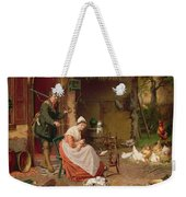 Farmyard Scene Weekender Tote Bag by Jan David Cole
