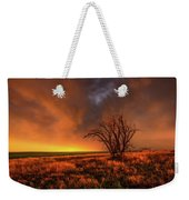 Fascinations - Warm Light And Rumbles Of Thunder In The Oklahoma Panhandle Weekender Tote Bag