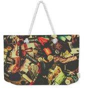 Fashion Designers Desk  Weekender Tote Bag