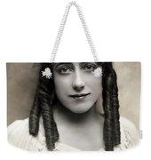 Fashion: Hairstyle, C1910 Weekender Tote Bag
