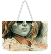 Fashion Illustration Weekender Tote Bag