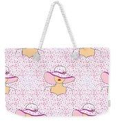 Fashion Pattern Weekender Tote Bag