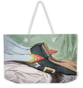 Fashionable Contrasts Weekender Tote Bag