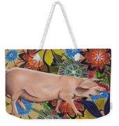 Fashionista Pig Weekender Tote Bag