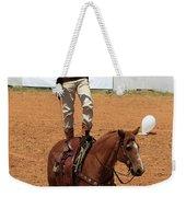 Fast Draw Cowboy Weekender Tote Bag