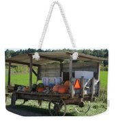 Fast Food Weekender Tote Bag by Bjorn Sjogren