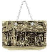 Fat Hen Grocery Sepia Weekender Tote Bag