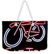 Fat Tire Neon Sign Weekender Tote Bag