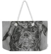 Father And Puppy  Weekender Tote Bag