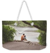 Father And Son 2 Weekender Tote Bag
