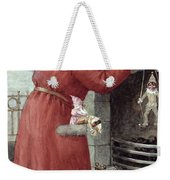 Father Christmas Weekender Tote Bag by Karl Roger