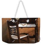Father Serra's Desk Weekender Tote Bag