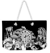 Father Time In Black And White Weekender Tote Bag
