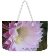 Fathers Day Cactus Weekender Tote Bag