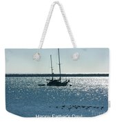 Father's Day Card - Peaceful Bay Weekender Tote Bag