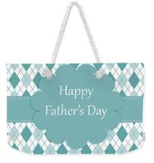 Father's Day Weekender Tote Bag
