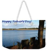Fathers Day Weekender Tote Bag
