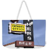 Father's Office Weekender Tote Bag