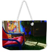 Faux Fauve Interior Weekender Tote Bag