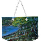 Favorite Fishin' Hole Weekender Tote Bag