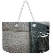 Fdr Memorial - Shared Sacrifice Weekender Tote Bag