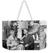 Fdr Presenting Medal Of Honor To William Wilbur Weekender Tote Bag